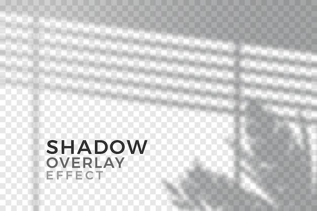 Tema de efeito de sobreposição de sombras transparentes
