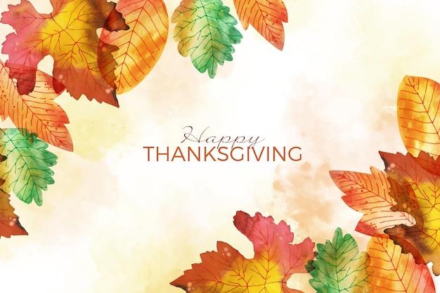 Tema de fundo do dia de ação de graças