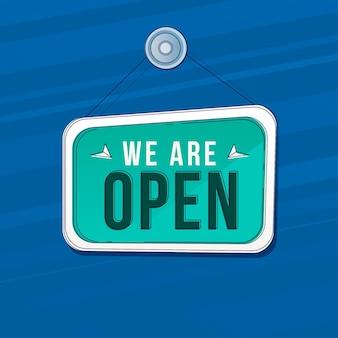 Tema de nós somos sinal aberto