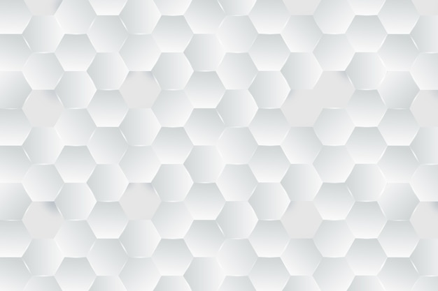Tema de papel de parede branco no estilo de papel 3d