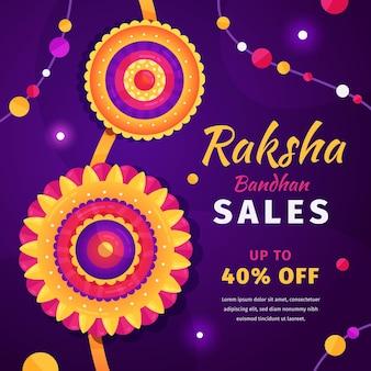 Tema de vendas raksha bandhan