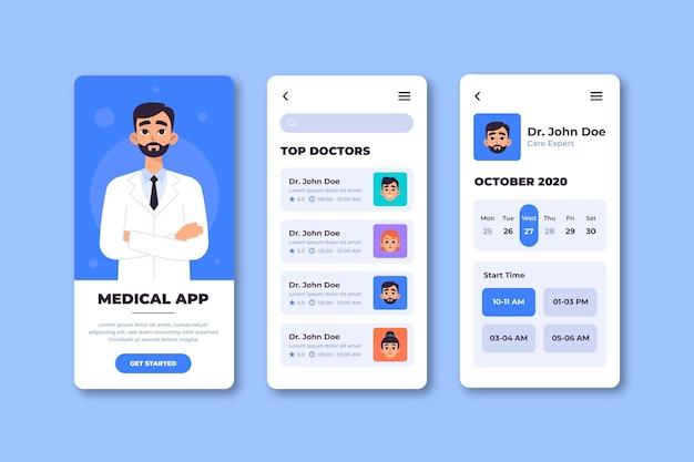 Tema do aplicativo de reserva médica