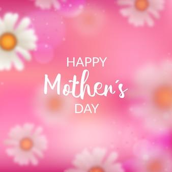 Tema do dia das mães turva