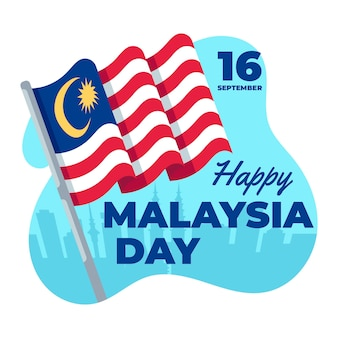 Tema do evento do dia da malásia
