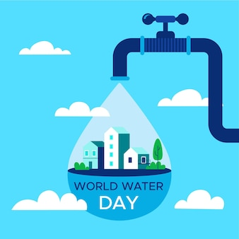 Tema do evento do dia mundial da água