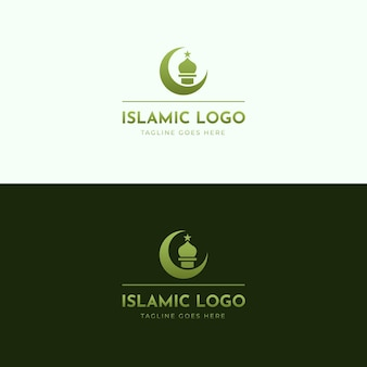 Tema do logotipo islâmico