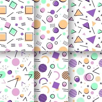 Tema do pacote de padrões de memphis