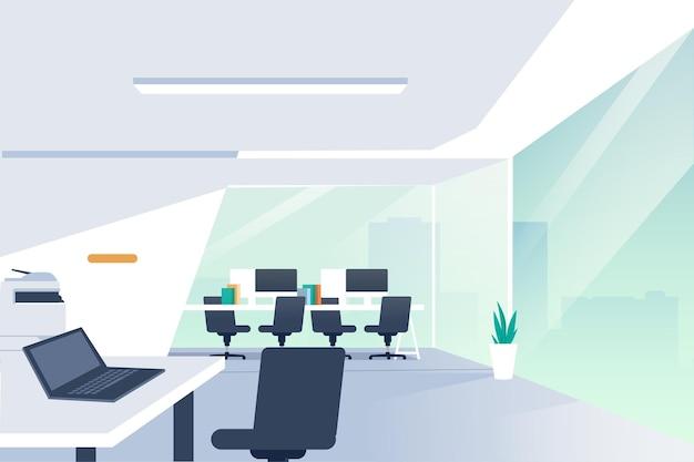 Tema do papel de parede do escritório