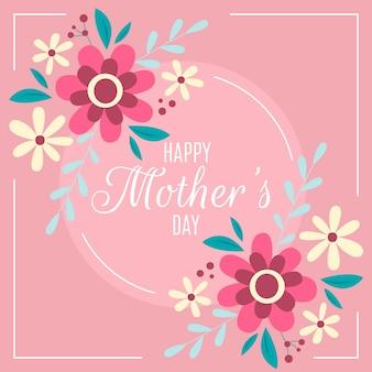 Tema floral do dia das mães
