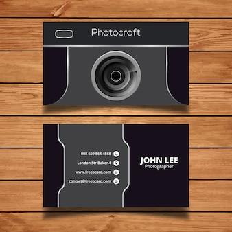 Tempalte fotografia cartão de visita