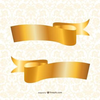 Template fitas de ouro