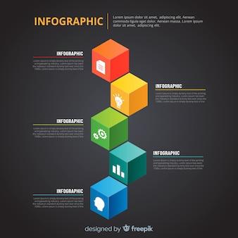 Template infográfico