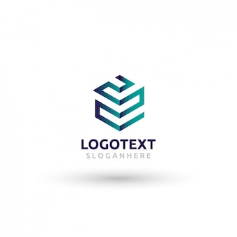 Template logo abstract