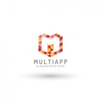 Template logo app multi