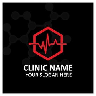 Template logo clínica médica