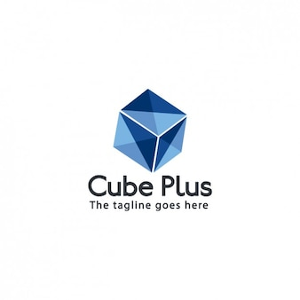 Template logo cube empresa