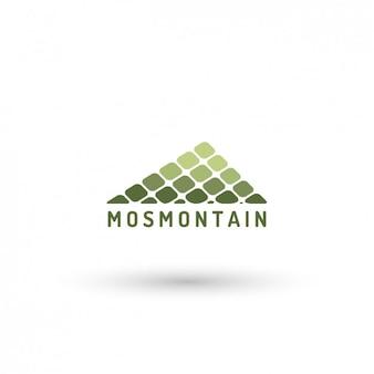 Template logo montanha