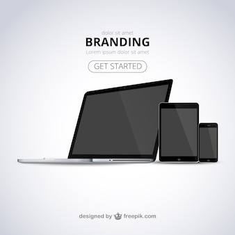 Template web marca