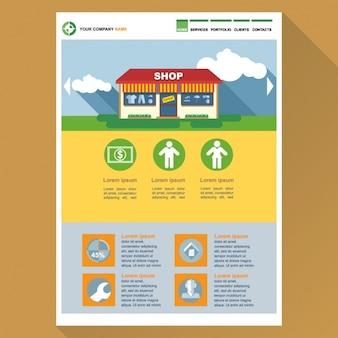 Template web para lojas