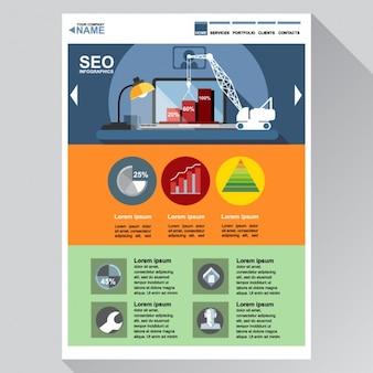 Template web para seo