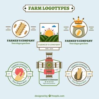 Templates logotipos fazenda