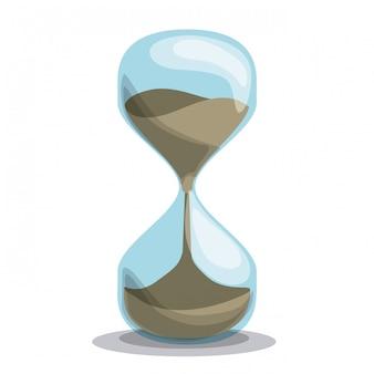 Tempo de design, ilustração vetorial.