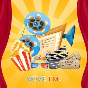 Tempo de filme, cinema