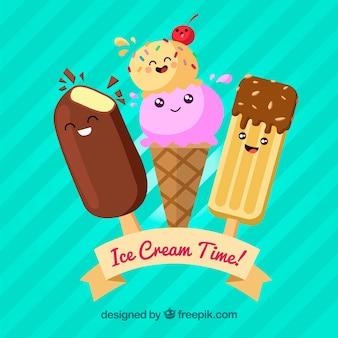 Tempo de sorvete