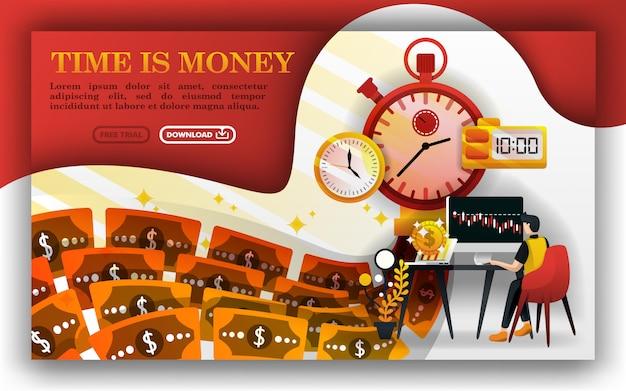 Tempo é dinheiro ou uma máquina de dinheiro