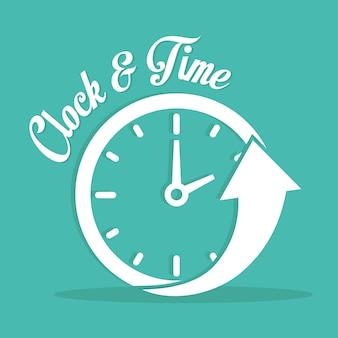 Tempo, ícone, desenho