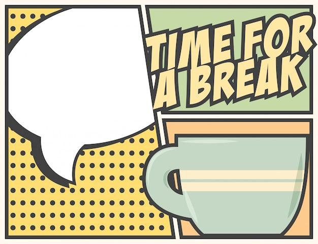 Tempo para uma pausa