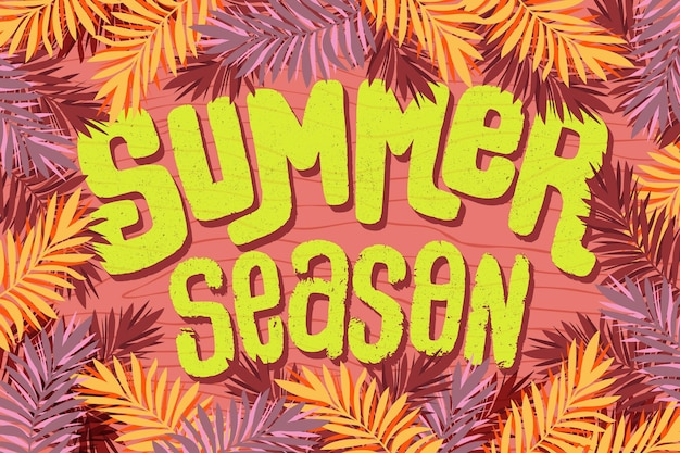 Temporada e letras de verão