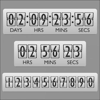 Temporizador do relógio de contagem regressiva
