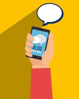 Tendência de blog e blogueiros