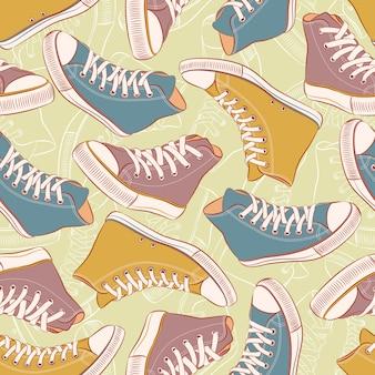 Tênis coloridos