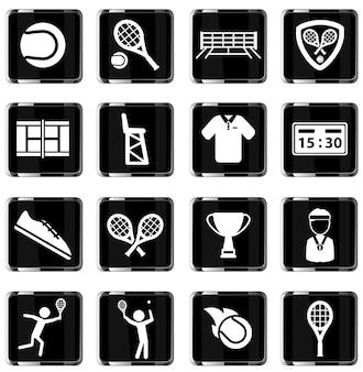 Tênis é simplesmente um símbolo para ícones da web