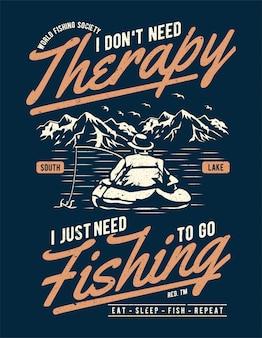 Terapia de pesca
