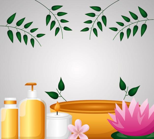 Terapia de tratamento de spa
