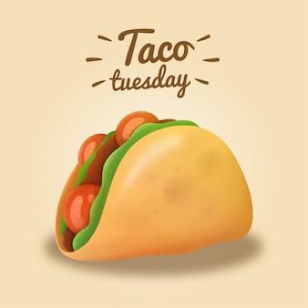 Terça-feira tacos