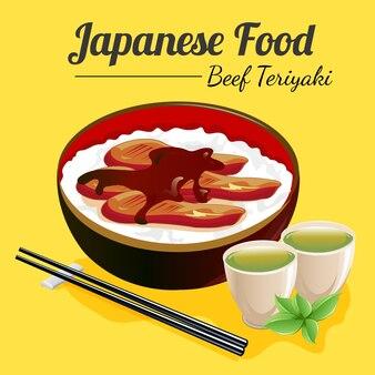 Teriyaki de carne