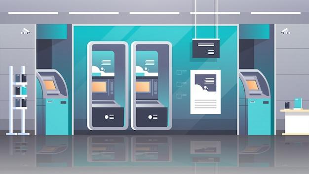 Terminal de pagamento em caixa automático
