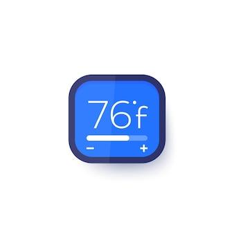 Termostato inteligente, controle de temperatura