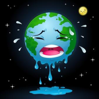 Terra chorando