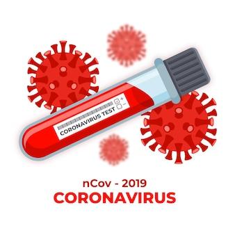 Teste de sangue de coronavírus