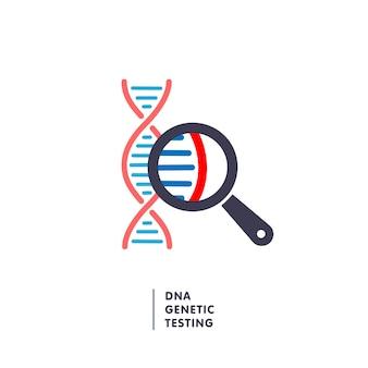 Teste genético de dna
