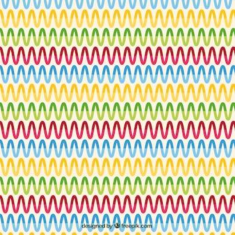 Teste padrão abstrato colorido