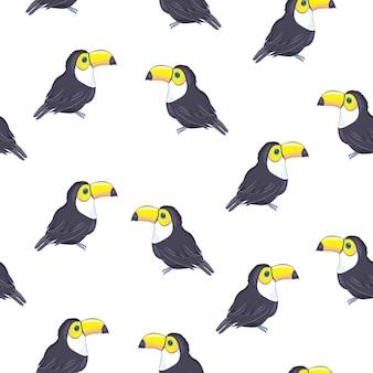 Teste padrão animal dos tucanos