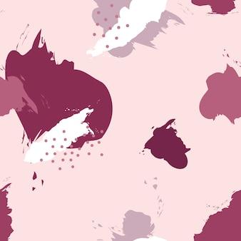 Teste padrão cor-de-rosa de memphis