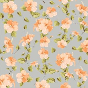 Teste padrão de flor das buganvílias
