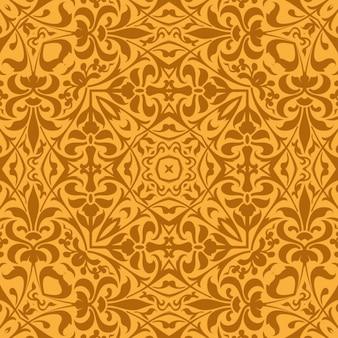 Teste padrão do vintage feitos de ornamentos